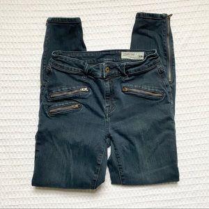 Pistola zipper skinny jeans size 27